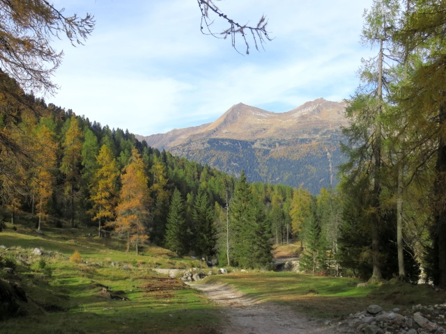 Val Piumogna, in direzione di Dalpe
