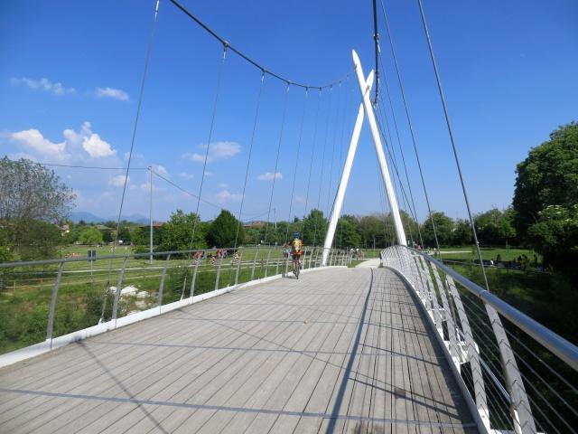 Il Ponte nei pressi dell'Oasi Verde di Seriate
