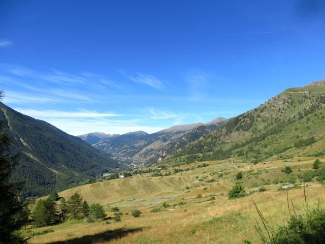 La Val Chisone salendo a Pian dell'Alpe