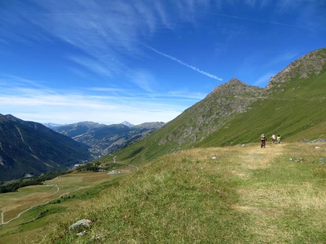 Colle delle Finestre - sentiero/mulattiera per la Ciantiplagna