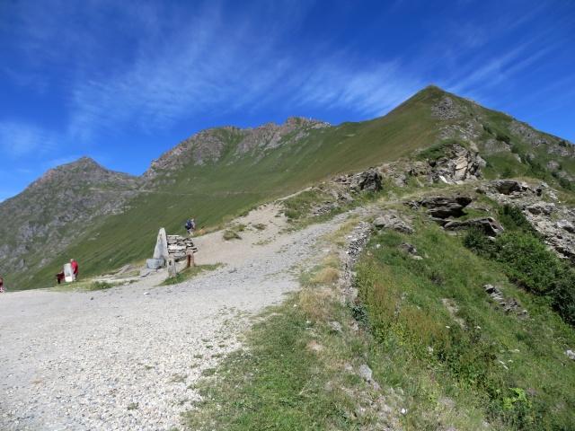 Colle delle Finestre - inizio del sentiero/mulattiera per il Ciantiplagna