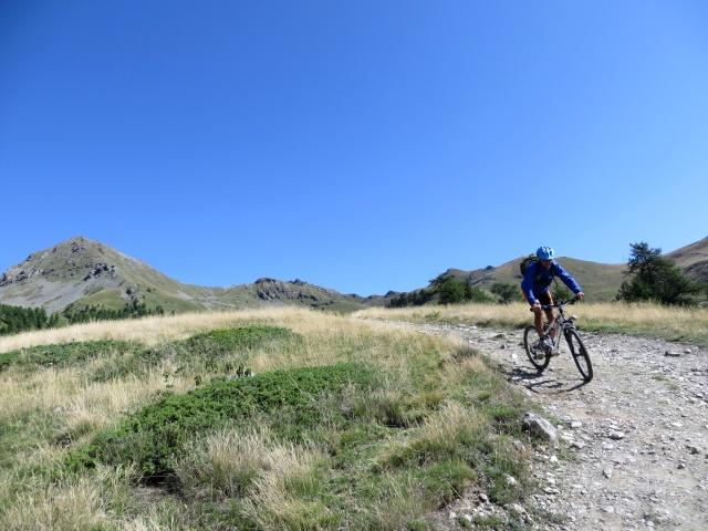 Arrivo all'Alpe Champ Chellier Superiore