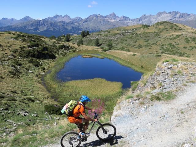 Il secondo lago di Champlong - incredibile scenario alpino