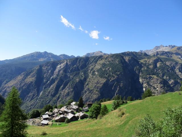 L'alpeggio di Suisse sotto Chamois