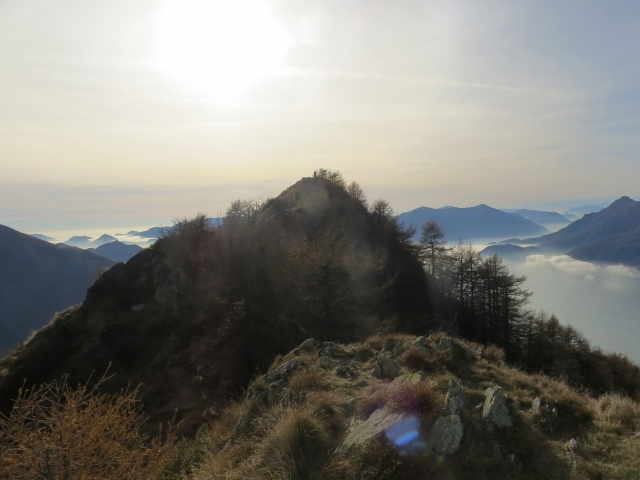 La vetta del Monte Legnoncino