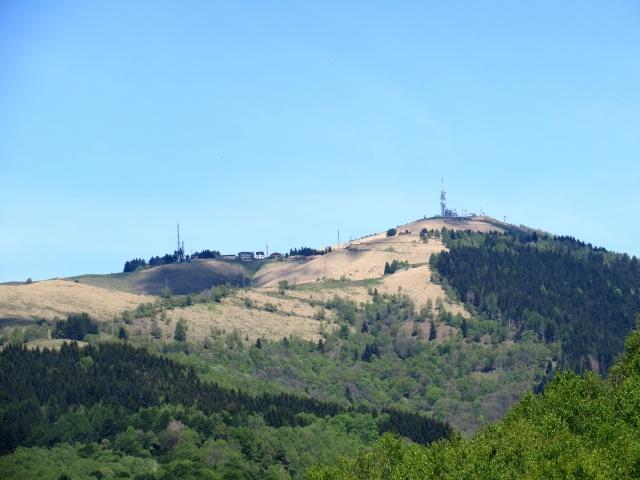 Panorama - rilievo del Mottarone