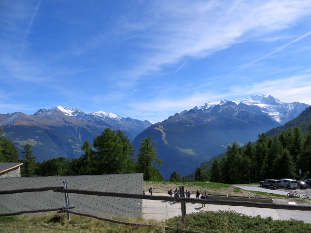 Moosalp - terrazza panoramica sui 4.000 vallesani