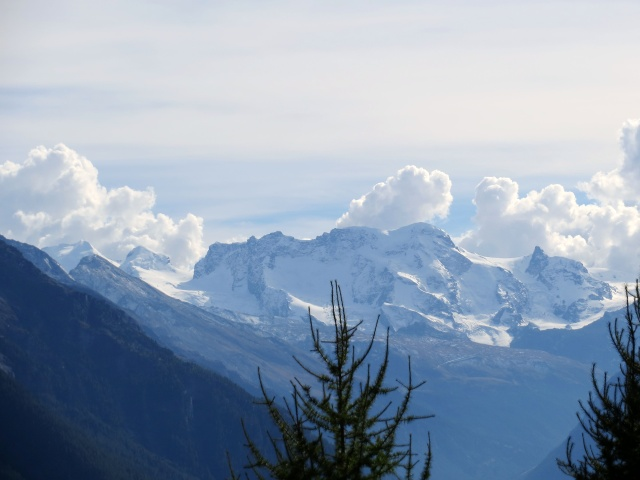 Gruppo del Monte Rosa (Breithorn 4.159 mt, Castor 4.223 mt, Pollux 4.092 mt)