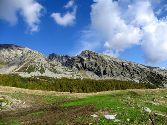 Panorama dall'Alpe Monscera