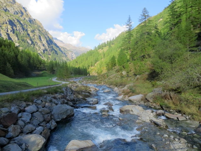 Il torrente della Zwischbergental (Grosses Wasser)