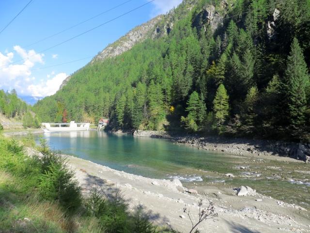 Lago artificiale nella Zwischbergental