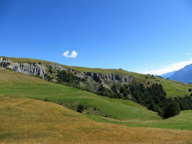 Calanchi presso l'Alpe Letanaz inferiore