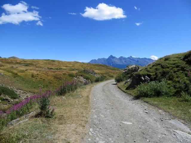 Salita al rifugio Mont Fallère