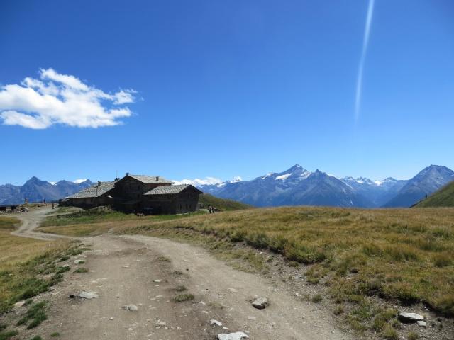 Arrivo al rifugio Mont Fallére