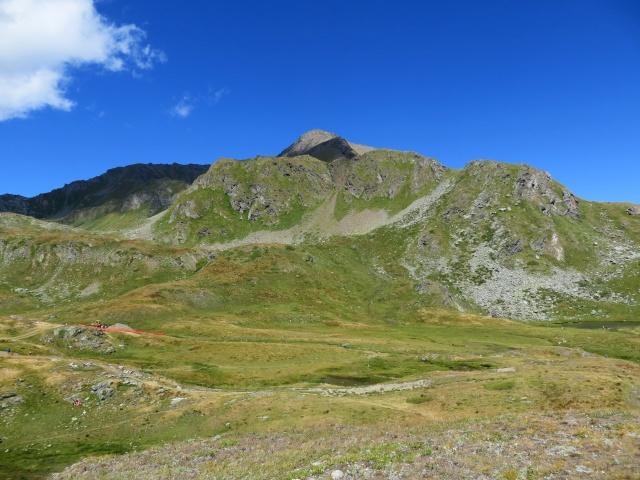 La punta Fallère che da il nome all'omonimo rifugio