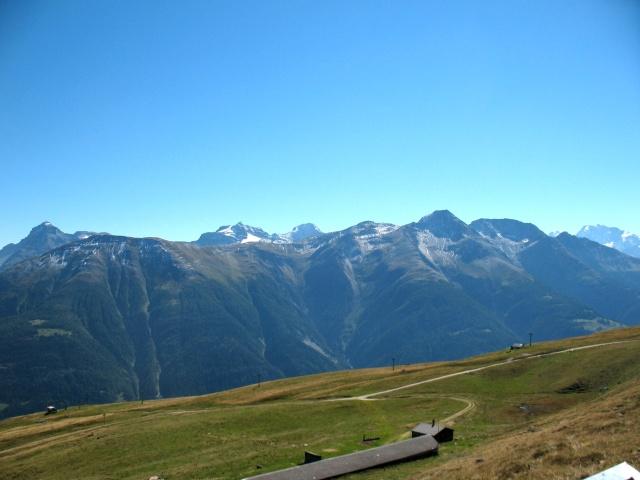 Verso Kuehboden-Fiescheralp - panorama