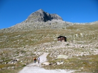 Strada per il ghiacciaio dell'Aletsch