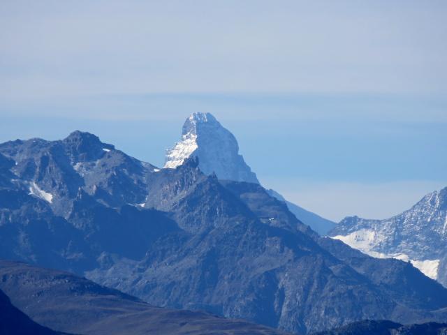 La piramide del Cervino (4.478 m)