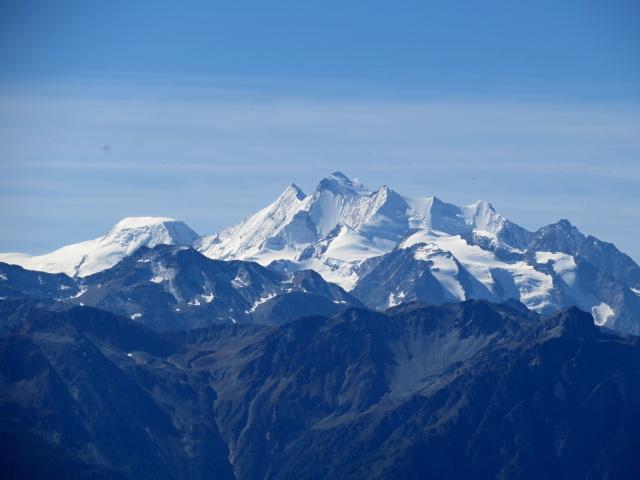 Gruppo del Mischabel, al centro il Dom (4.545 m)