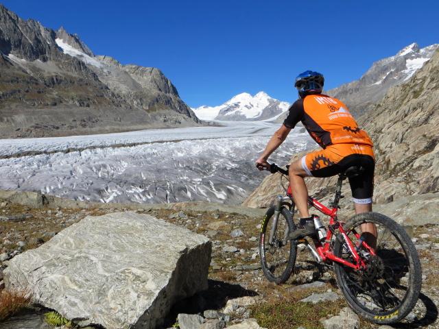 Particolare sul ghiacciaio dell'Aletsch