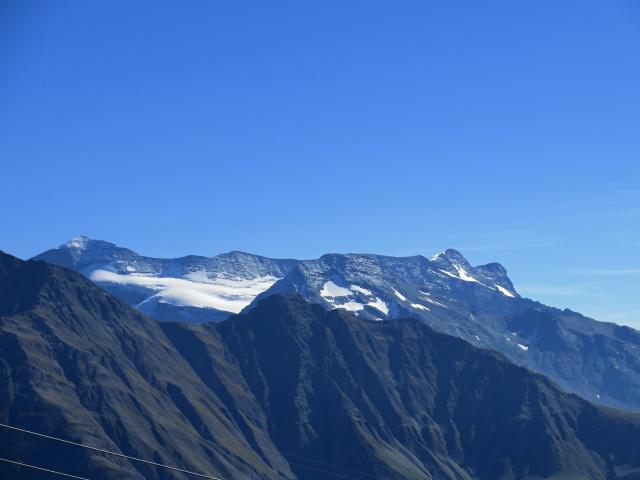 Moosfluh - Monte Leone (3.553 m) e Breithorn (Sempione, 3.448 m)