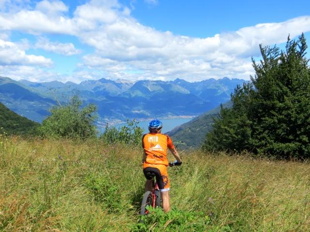 Alto Lago di Como dal Passo di Agueglio