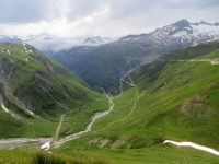 Oberalpen, tratto finale dell'Obergoms