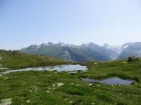 Laghetti alpini nei pressi del Grimselpass