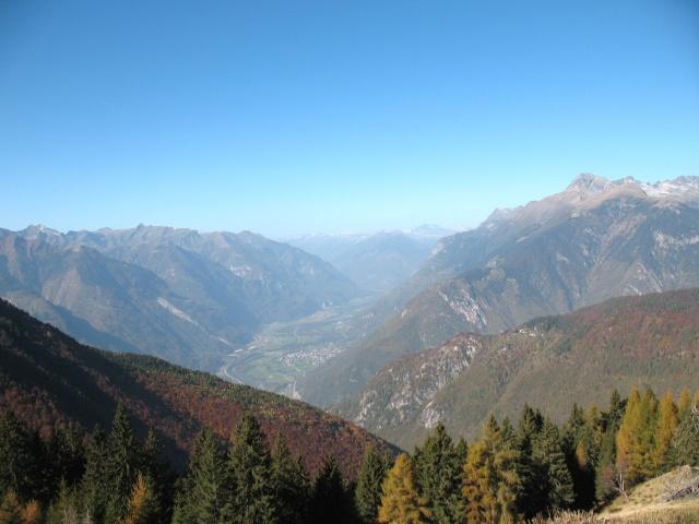 Panorama da Alpe della Costa