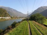 Ciclabile sul fiume Ticino