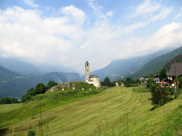 Rossura, Chiesa di San Lorenzo