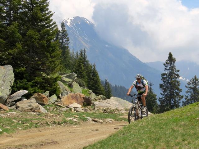 Arrivo all'Alpe di Carì