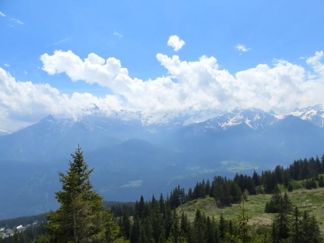 Gruppo del Pizzo Campo Tencia dall'Alpe di Carì