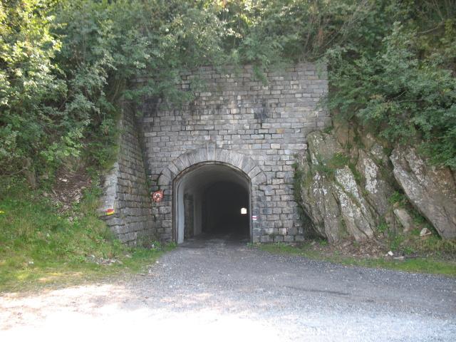 Tunnel prima dell'Alpe di Cadinello