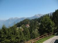 Panorama sulle vette della Valle Mesolcina