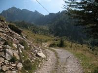 Alpe di Cadinello e Corno di Gesero sullo sfondo