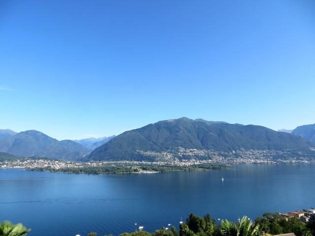 Lago Maggiore con Ascona, Locarno e l'Alpe Cardada