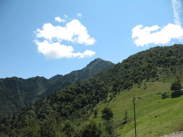 Monte Tamaro dall'Alpe di Neggia