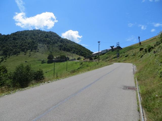 Arrivo all'Alpe di Neggia