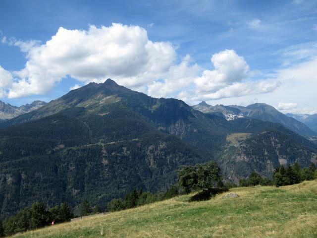 Panorama da Monte Angone - Vista sul Pizzo Forno (2.907)