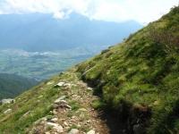 Discesa dall'Alpe gigiai