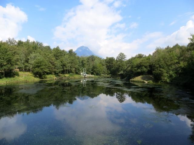 Lago artificiale di Onzo