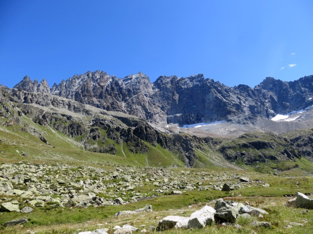 Panorama dall'alpe Thoules