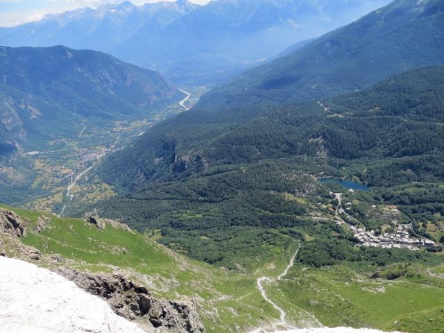 La piana di Venaus ed il territorio circostante l'abitato di Moncenisio (Lago Grande)