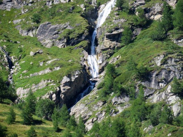 Alpe Veglia, cascate del Rio Mottiscia