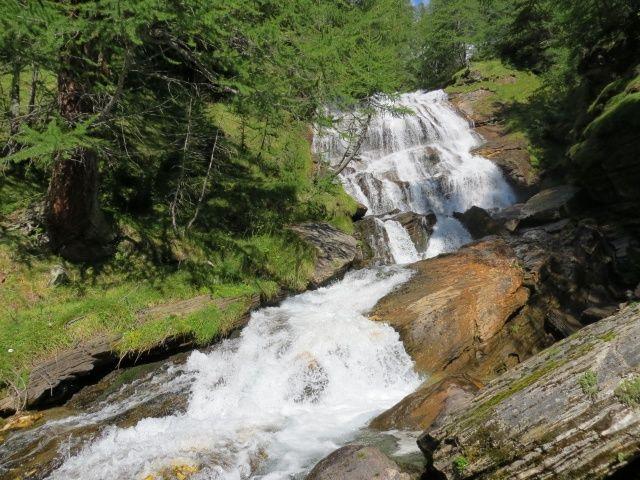 Alpe Veglia, cascate del Rio Frua