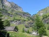 Salita per l'Alpe Veglia, panorama