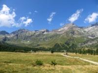 Alpe Veglia, Punta Rebbio (dx) e Punta d'Aurona (sx)