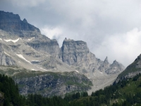 Alpe Veglia, vista della punta di Boccareccio