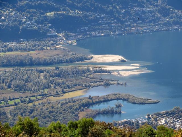 Monti di Motti - la foce del fiume Ticino